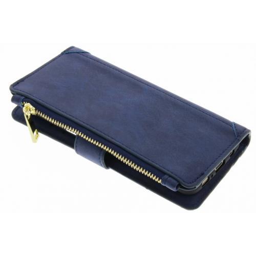 Luxe Portemonnee voor Samsung Galaxy S8 Plus - Donkerblauw