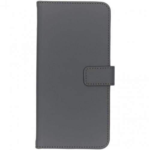 Luxe Softcase Booktype voor Samsung Galaxy S10 Plus - Grijs