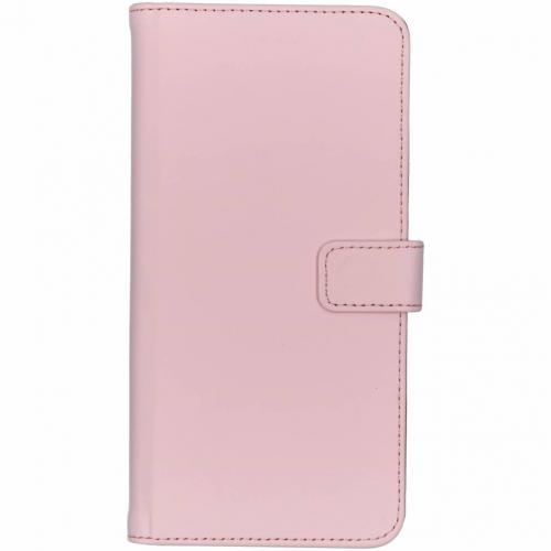 Luxe Softcase Booktype voor Samsung Galaxy S10 Plus - Lichtroze