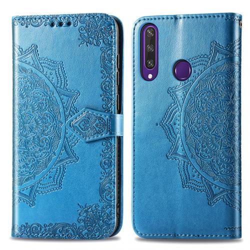 Mandala Booktype voor de Huawei Y6p - Turquoise