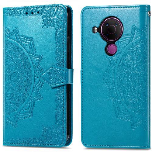 Mandala Booktype voor de Nokia 5.4 - Turquoise