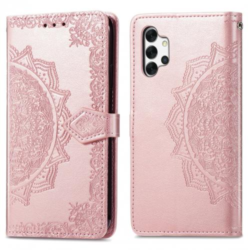 Mandala Booktype voor de Samsung Galaxy A32 (5G) - Rosé Goud