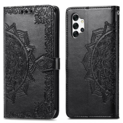 Mandala Booktype voor de Samsung Galaxy A32 (5G) - Zwart