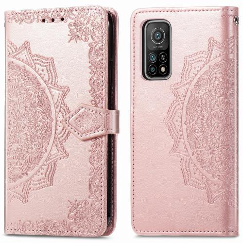 Mandala Booktype voor de Xiaomi Mi 10T (Pro) - Rosé Goud