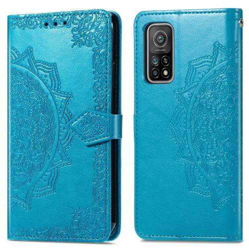 Mandala Booktype voor de Xiaomi Mi 10T (Pro) - Turquoise