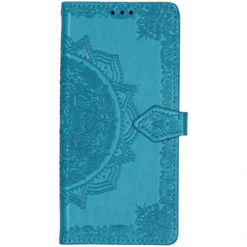 Mandala Booktype voor Huawei Mate 30 Pro - Turquoise
