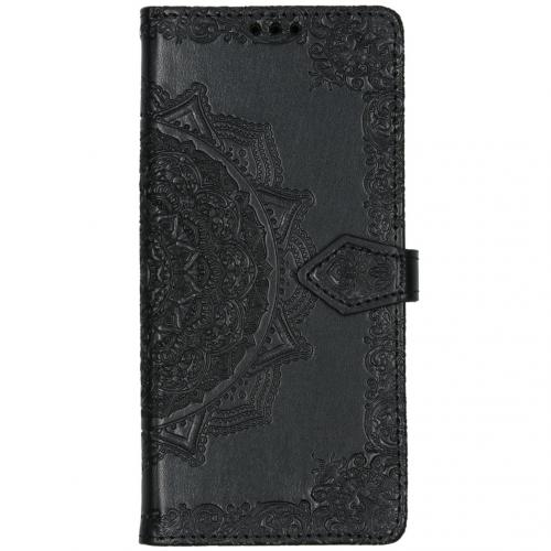 Mandala Booktype voor Huawei Mate 30 Pro - Zwart