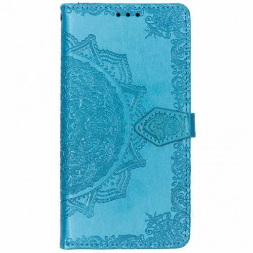 Mandala Booktype voor Nokia 3.1 Plus - Turquoise