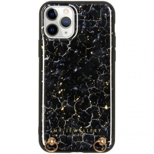 Marmer Hardcase Koordhoesje voor de iPhone 11 Pro - Blue Marble