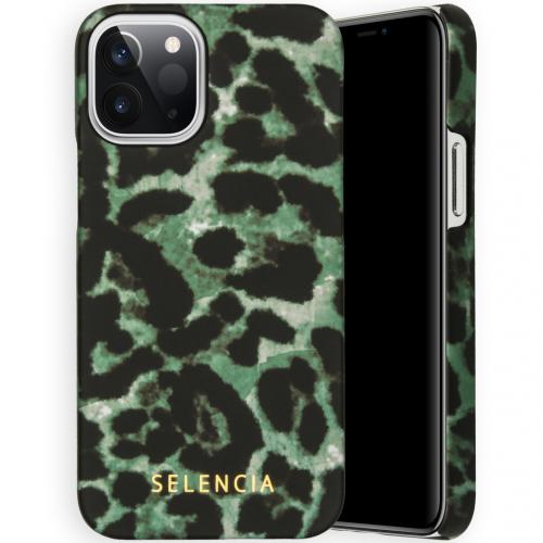 Maya Fashion Backcover voor de iPhone 12 5.4 inch - Green Panther