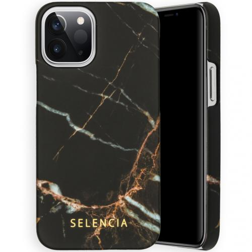 Maya Fashion Backcover voor de iPhone 12 5.4 inch - Marble Black