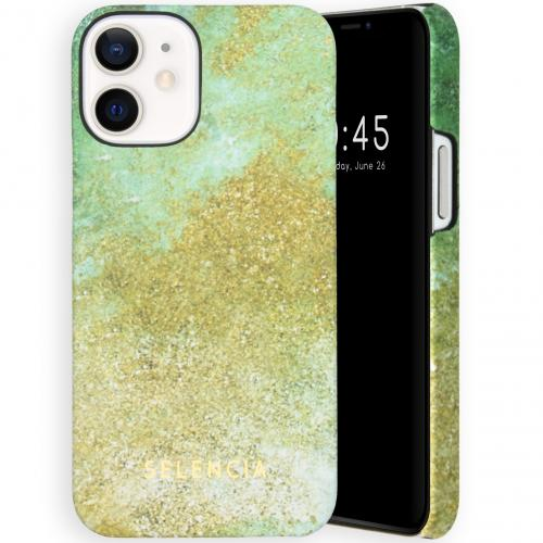 Maya Fashion Backcover voor de iPhone 12 Mini - Green Nature