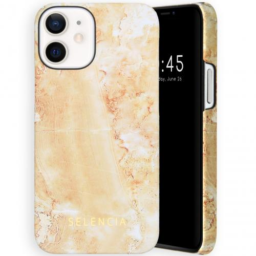 Maya Fashion Backcover voor de iPhone 12 Mini - Marble Sand