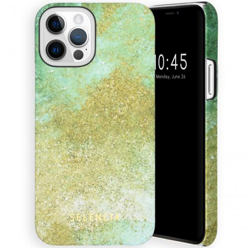 Maya Fashion Backcover voor de iPhone 12 (Pro) - Green Nature