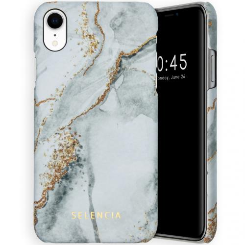 Maya Fashion Backcover voor de iPhone Xr - Marble Stone