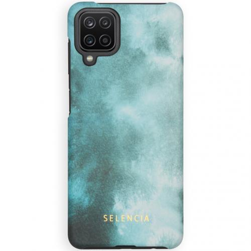 Maya Fashion Backcover voor de Samsung Galaxy A12 - Air Blue