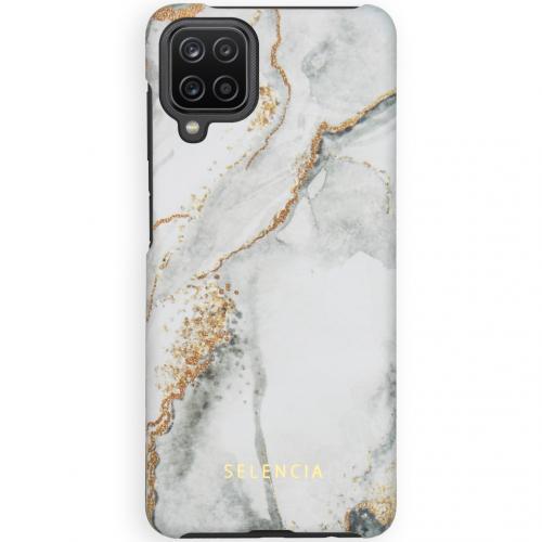 Maya Fashion Backcover voor de Samsung Galaxy A12 - Marble Stone