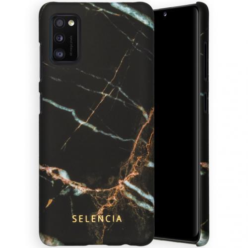 Maya Fashion Backcover voor de Samsung Galaxy A41 - Marble Black