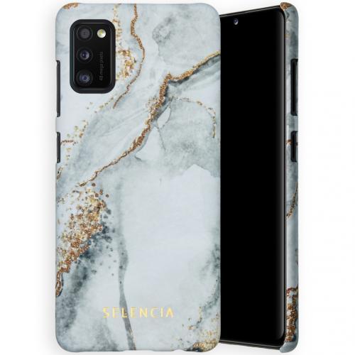Maya Fashion Backcover voor de Samsung Galaxy A41 - Marble Stone