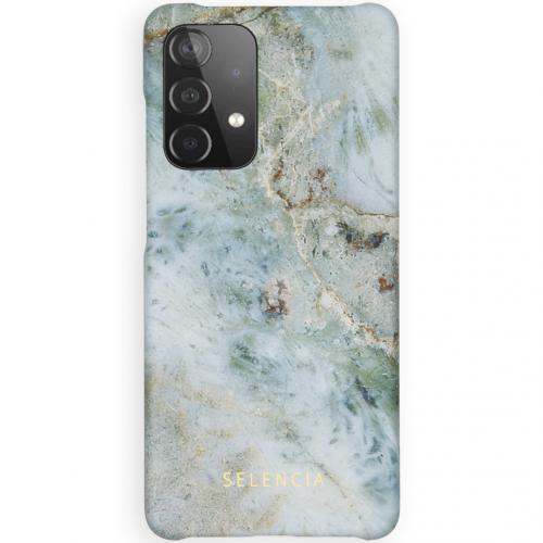 Maya Fashion Backcover voor de Samsung Galaxy A52 (5G) / A52 (4G) - Marble Blue