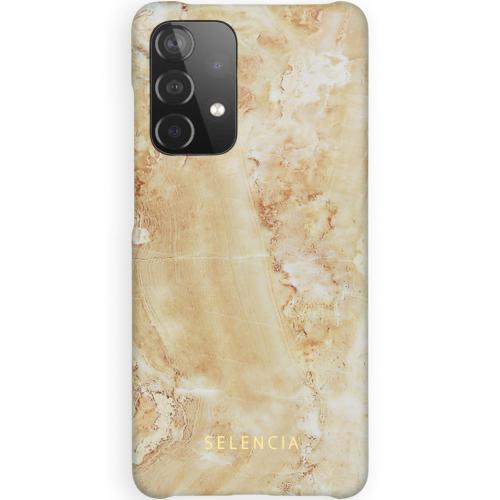 Maya Fashion Backcover voor de Samsung Galaxy A52 (5G) / A52 (4G) - Marble Sand