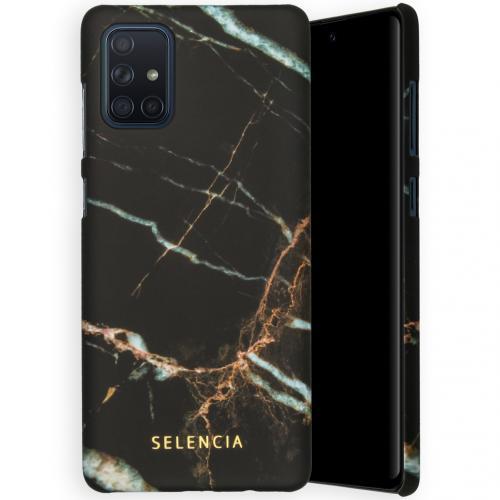 Maya Fashion Backcover voor de Samsung Galaxy A71 - Marble Black