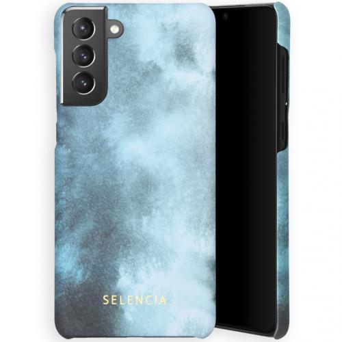Maya Fashion Backcover voor de Samsung Galaxy S21 Plus - Air Blue