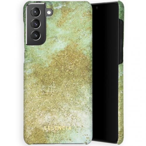 Maya Fashion Backcover voor de Samsung Galaxy S21 Plus - Green Nature