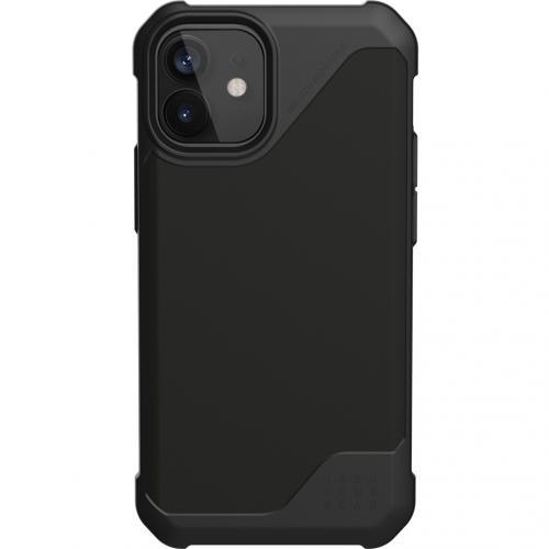 Metropolis LT Backcover voor de iPhone 12 Mini - Zwart
