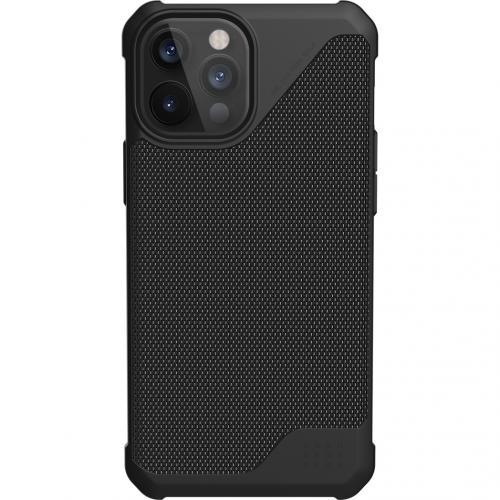 Metropolis LT Backcover voor de iPhone 12 Pro Max - Kevlar Black