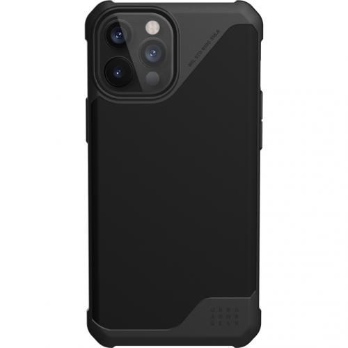 Metropolis LT Backcover voor de iPhone 12 Pro Max - Zwart