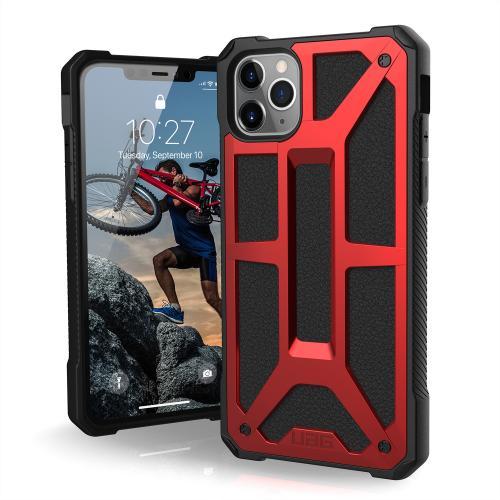Monarch Backcover voor de iPhone 11 Pro Max - Crimson Red