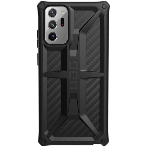 Monarch Backcover voor de Samsung Galaxy Note 20 Ultra - Carbon Fiber Black