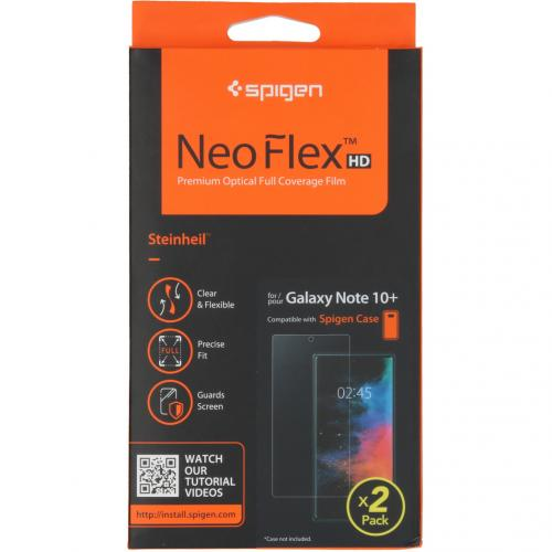 Neo Flex Screenprotector Duo Pack voor de Samsung Galaxy Note 10 Plus