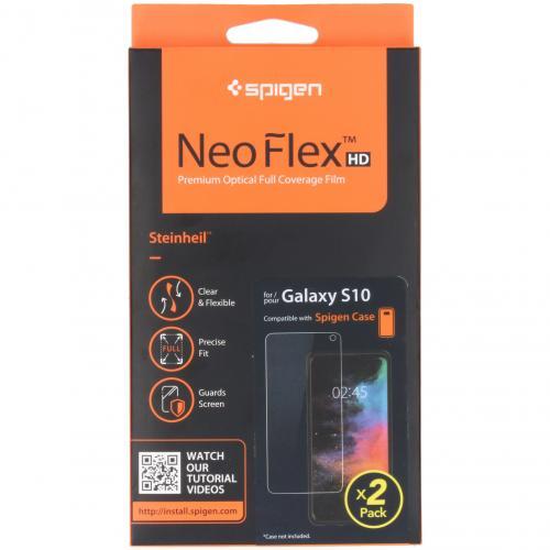 Neo Flex Screenprotector Duo Pack voor de Samsung Galaxy S10
