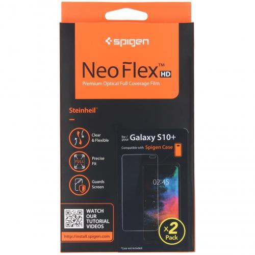 Neo Flex Screenprotector Duo Pack voor de Samsung Galaxy S10 Plus