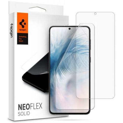 Neo Flex Solid HD Screenprotector Duo Pack voor de Samsung Galaxy S21