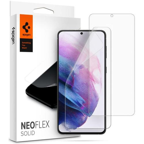 Neo Flex Solid Screenprotector Duo Pack voor de Samsung Galaxy S21