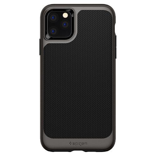 Neo Hybrid Backcover voor de iPhone 11 Pro Max - Zwart / Grijs