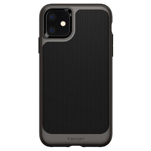 Neo Hybrid Backcover voor de iPhone 11 - Zwart / Grijs