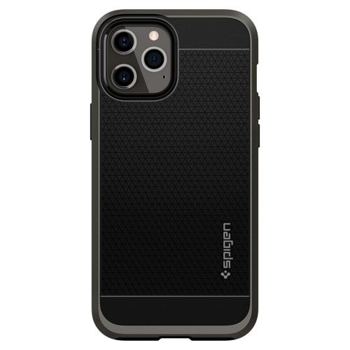 Neo Hybrid Backcover voor de iPhone 12 Pro Max - Zwart