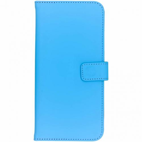 OnePlus 6T hoesje Blauw - Luxe TPU Book Case