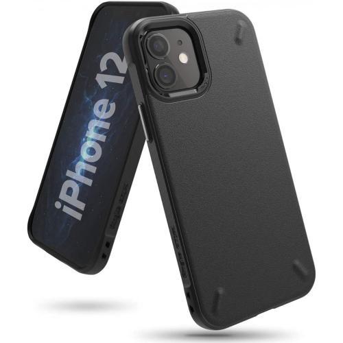 Onyx Backcover voor de iPhone 12 Mini - Zwart