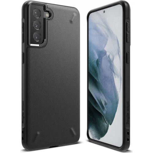 Onyx Backcover voor de Samsung Galaxy S21 Plus - Zwart