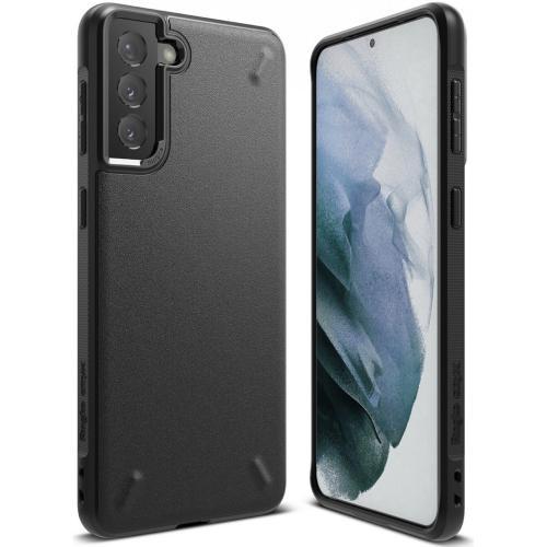Onyx Backcover voor de Samsung Galaxy S21 - Zwart