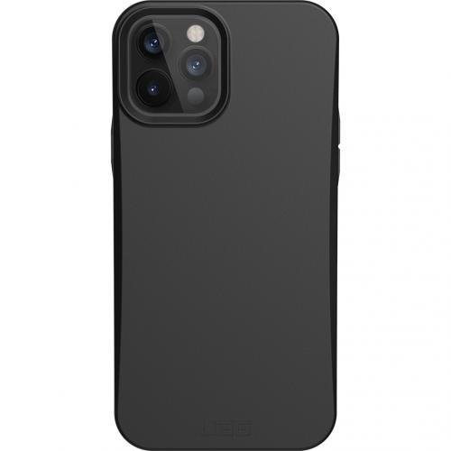 Outback Backcover voor de iPhone 12 (Pro) - Zwart