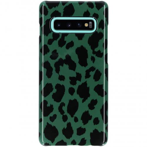 Passion Backcover voor Samsung Galaxy S10 Plus - Panter