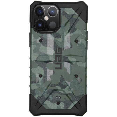 Pathfinder Backcover voor de iPhone 12 Pro Max - Forest Camo