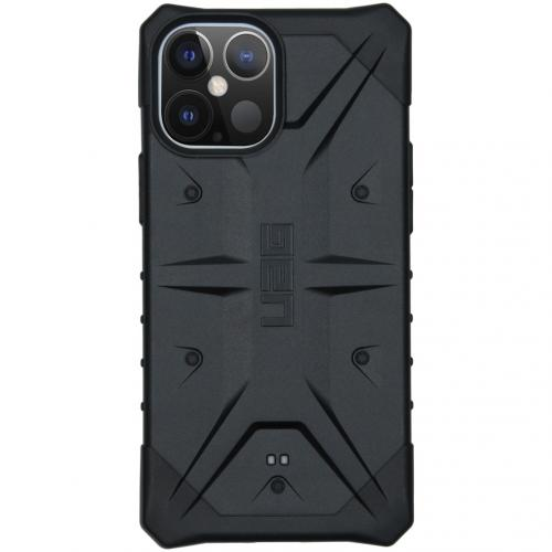 Pathfinder Backcover voor de iPhone 12 Pro Max - Zwart