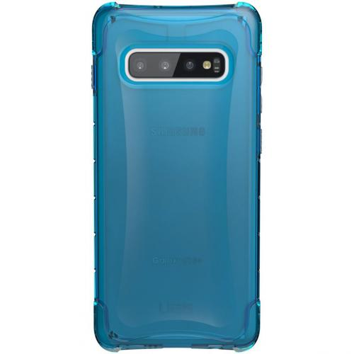 Plyo Backcover voor de Samsung Galaxy S10 Plus - Blauw